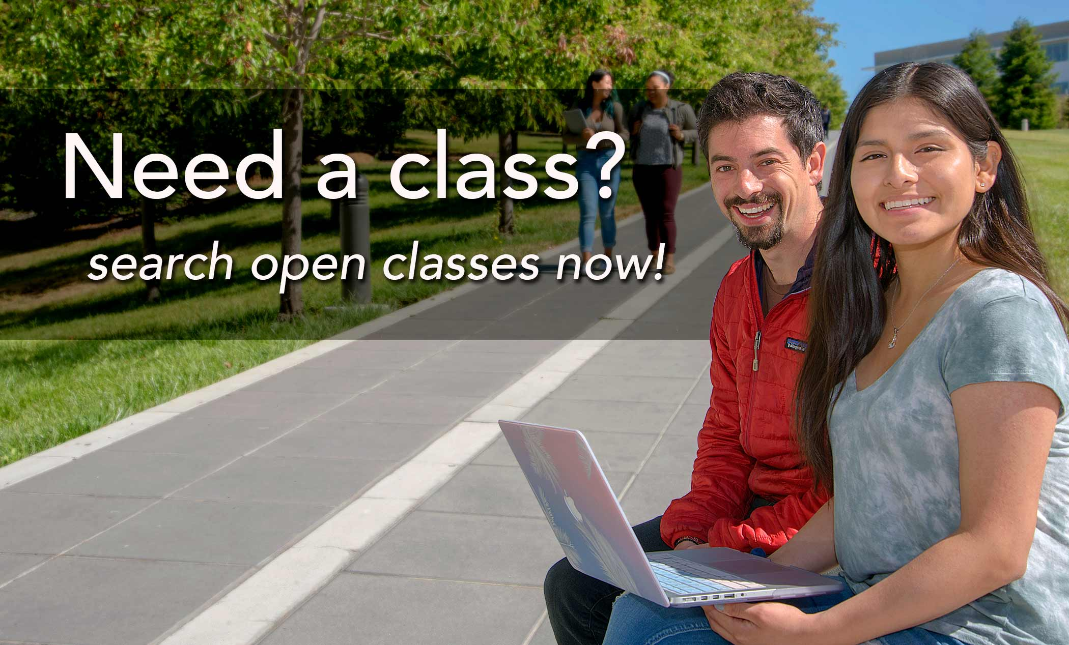 Need a class? Search open classes now!